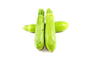 Frische Grüne Zucchini