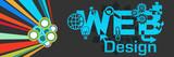 Web Design Colorful Dark