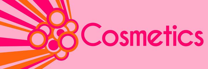 Cosmetics Pink Orange Rings