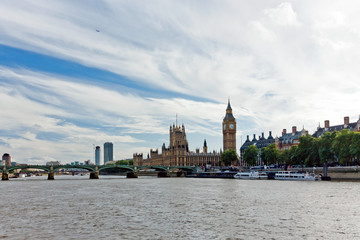 London parliament and Big Ben Great of Bell Westminster