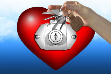 the key of the love