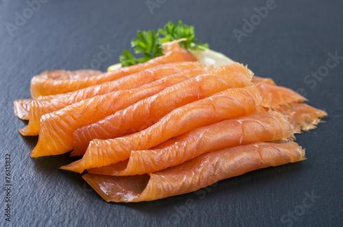 Smoked Salmon - 76313832