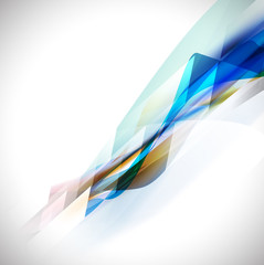 Abstract motion blur background for business or technology