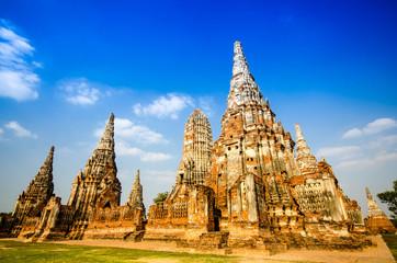 ayutthaya temple in thailand