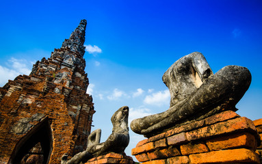 ayutthaya temple in thailand