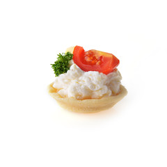 appetizer with cream