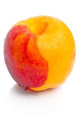 Nectarine peeled