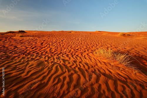 Fotobehang Woestijn Sand desert landscape, Wahiba Sands, Oman
