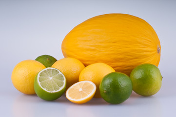 lemons and melon