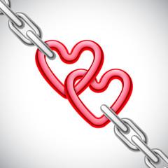 Heart Shaped Chain