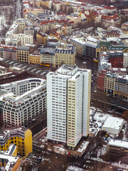 Berlin, Germany. View of the city from above