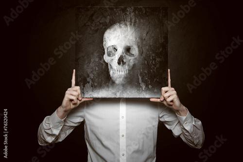 canvas print picture Death