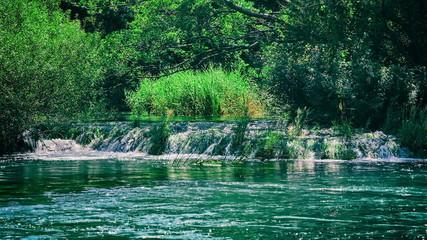 Beautiful Krka river