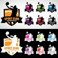 Logo club basket
