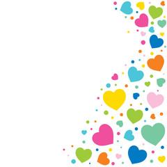 valentine day greeting background vector