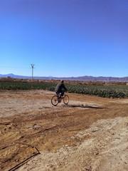 Promenade en vélo en Espagne