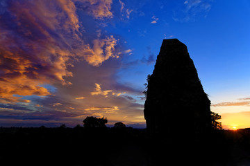 Sunset on Pre Rup