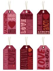 valentine labels