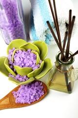 bath salt with lavender
