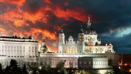 Madrid - Spain, Time lapse