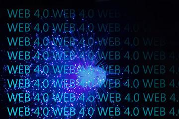 Symbolfoto Glasfasernetz und Web 4.0