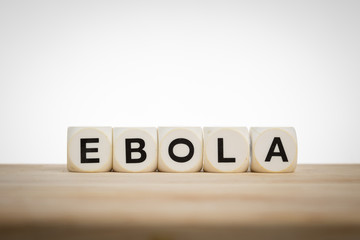 Ebola spelled out