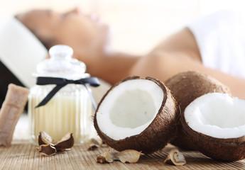 Wellness& spa, Zabieg z użyciem olejku kokosowego