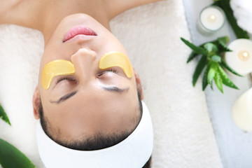 Złote płatki kosmetyczne, redukcja zmarszczek