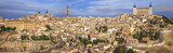 medieval Toledo, panoramic image, Spain