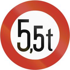 Weight Limit 1937