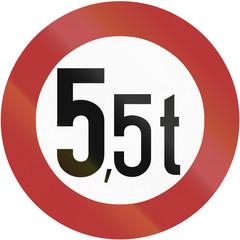 Weight Limit 1956