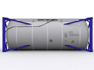 Seitenansicht Tankcontainer