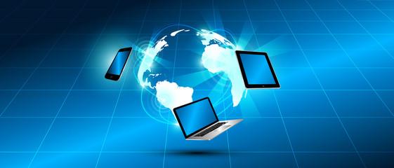 devices, network, internet, comunicazione