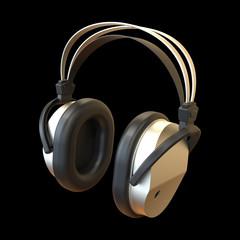 Kopfhörer schwarz