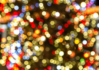 Christmas Tree Lights as a texture