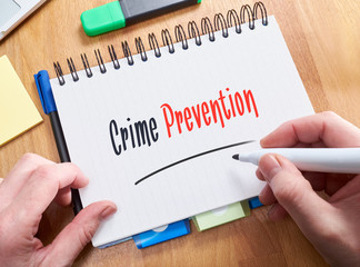 Crime Prevention Concept