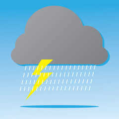 Rain Storm Cloud