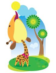 animal baby_giraffe