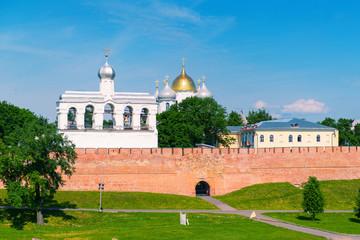 The Kremlin in Veliky Novgorod