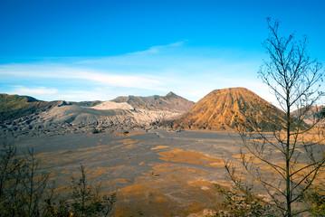 Mount Bromo volcanic plateau, Java, Indonesia