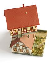 houses miniature model 2