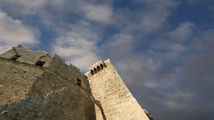 Linods Acropolis on Rhodos Ancient Archeological site