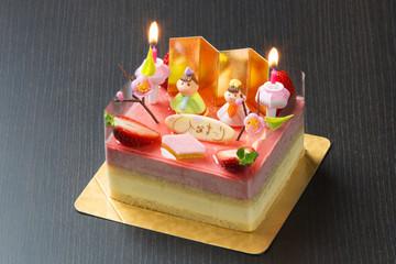おひな様ケーキ