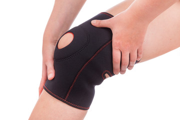Sports injuries of the knee. Muscle strain.