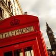 Obrazy na płótnie, fototapety, zdjęcia, fotoobrazy drukowane : phone booth  with the Big Ben