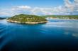 Landschaft vom Oslofjord