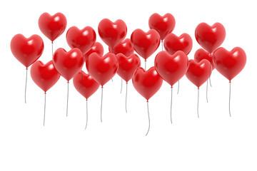 Herz Ballons Rot
