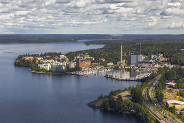 One of the areas of Tampere