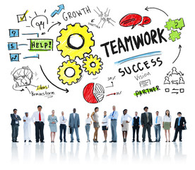 Teamwork Team Together Collaboration Corporate Business Concept