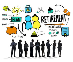Business People Retirement Career Digital Communication